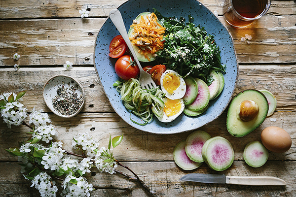 comida sana diseño web sevilla